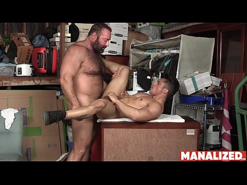 MANALIZED Petite Latino Armond Rizzo Hammered By Daddy Bear