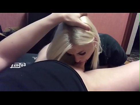 Blonde Teen Blowjob Homemade