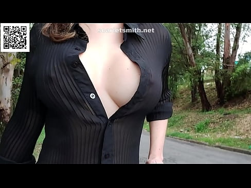Transparent blouse in the square