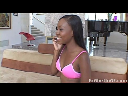 Clip sex Cute black first time rides a huge cock