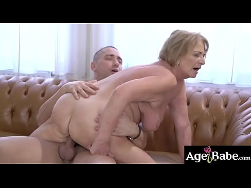 Mugur come over to satisfy horny granny Sally's sexual needs