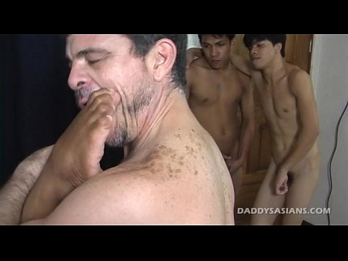 asian twink sex orgy with big daddy mike