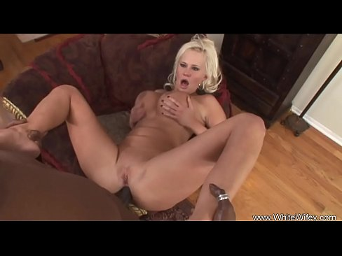Big Tit Blonde MILF Interracial Fuck
