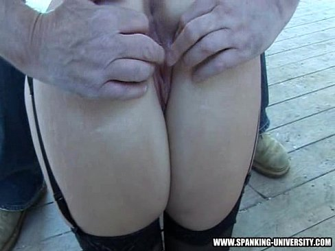 Eden has her ass spanking humiliation