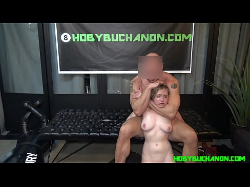 Master Ass Fucks, Punches, Chokes, Spits On & Abuses Submissive Girl