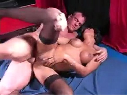 Asian Shemale letting Canadian dude tap that ass