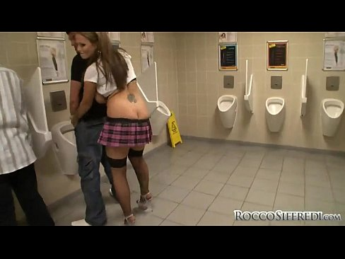 Japanese Girl Public Bathroom