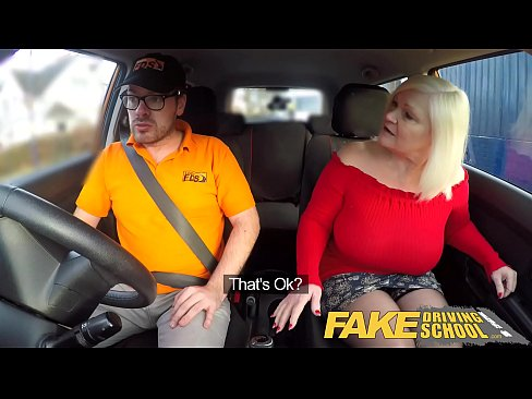cover video fake driving  school busty mature milf sucks and fucks lucky instructor