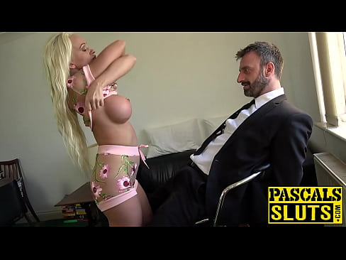 Bombshell Cindy Sun teasing before anal domination