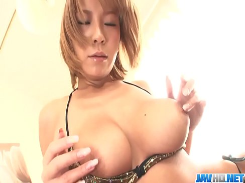 Big Titted Hottie Sumire Matsu Masturbates - More at javhd.net