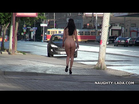 cover video fun nude on  the street
