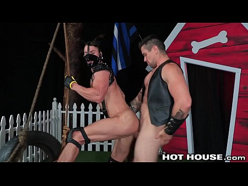 Fetish Daddy Trenton Ducati Rough Fucks His Puppy