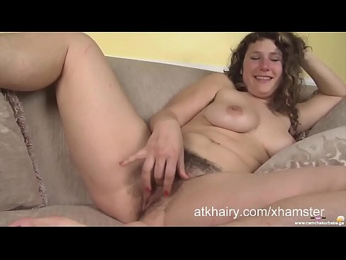 Chubby and Hairy Felicia Cums with a Toy Porn