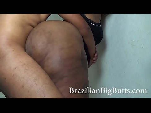 bbw lover smashes a lot of ass and thick thighs of WatermelonButt from BrazilianBigButts.com