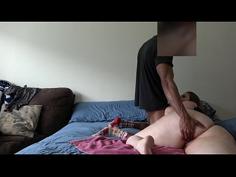 Wife Gets Fucked In Her Bed While Husband Is At Work