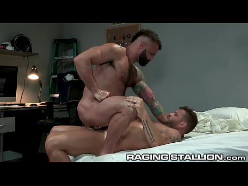 Superintendent Riley Mitchel Caught With His Pants Down Gets Pounded - RagingStallion