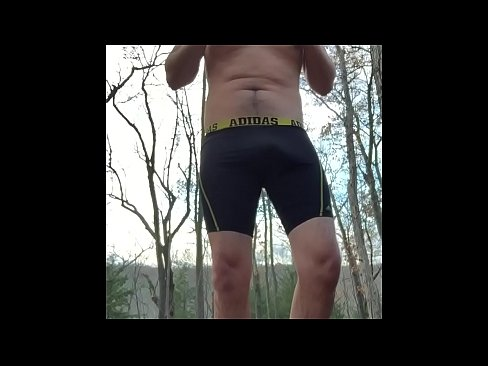 Male Solo Masturbation Public