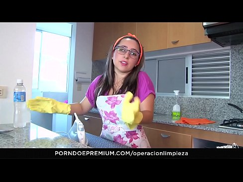 OPERACION LIMPIEZA - POV fucking with Colombian cleaning lady Francis Restrepo