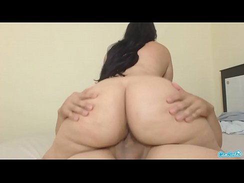 Huge White Ass Riding Dick