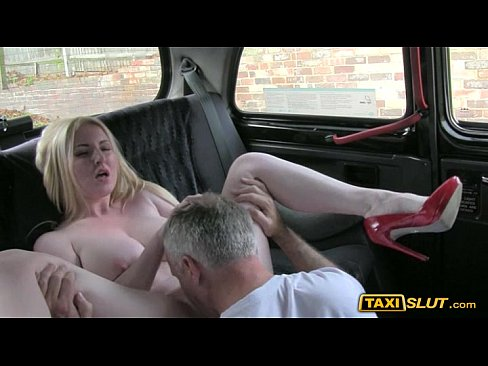 Big boobs amateur Georgie fucked outdoor with a pervert driver