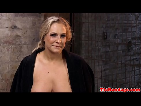 Busty Blonde Bdsm Sub Spanked And Toyed Xvideos Com