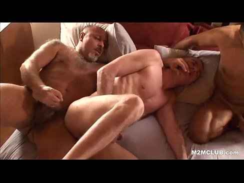 Mature guy fucked bareback