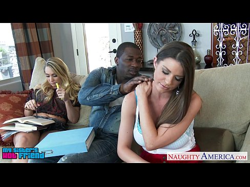 Naughty Babes AJ Applegate And Brooklyn Chase Lick Twats And Fuck A Black Cock