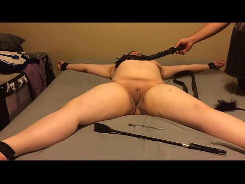 Bind spank fuck and suck threesome 6