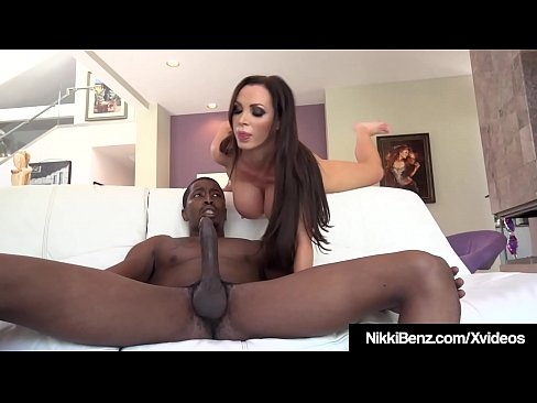 Big Black Cock Couple Fuck With Busty Nikki Benz!