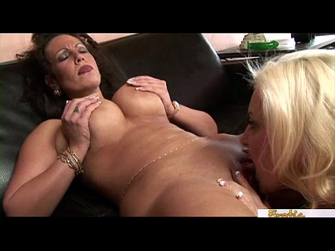 Two extraordinarily kinky mothers having fun with one another
