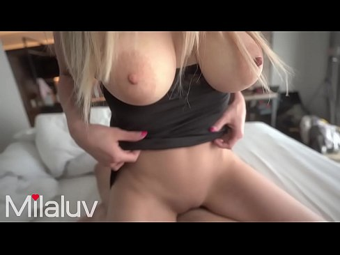 Busty Beauty gives me Juice in the Morning and I give it back - Milaluv