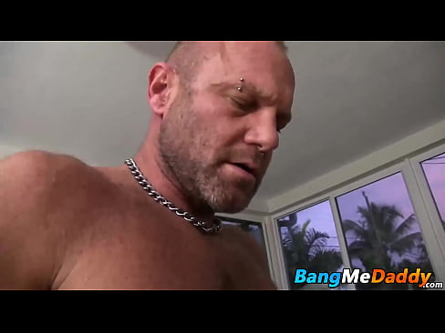 Chad Brock delivers a deep face fucking and hard raw fucking