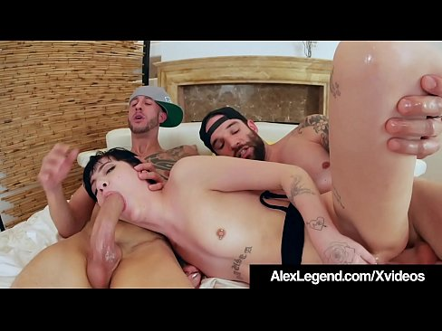 Charlotte Sartre Gets 2 Huge Cocks In Her Ass By Alex Legend