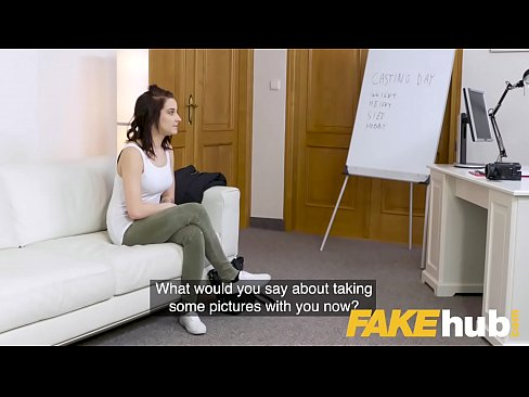 Fake Agent Girthy cock fucks hot student pussy in Czech hardcore casting