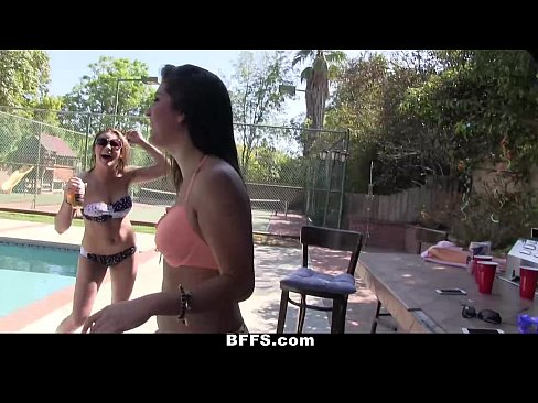 Amateur Teen Pool Party
