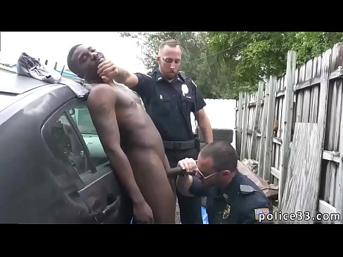 Cop gay cock Serial Tagger gets caught in the Act