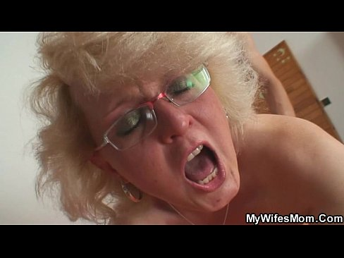 Horny mother-in-law takes it exhausting from behind
