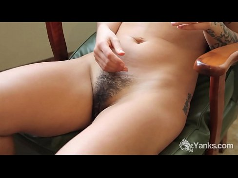 inked Milf talking dirty ass masturbating solo