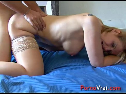 After work sex with Florence and two youngsters! French amateur