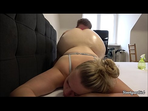 I Fucked Her Big Ass While She Had a Lush toy in Anal