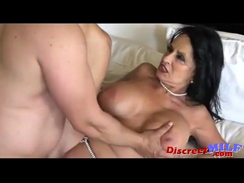 Having sex with a granny
