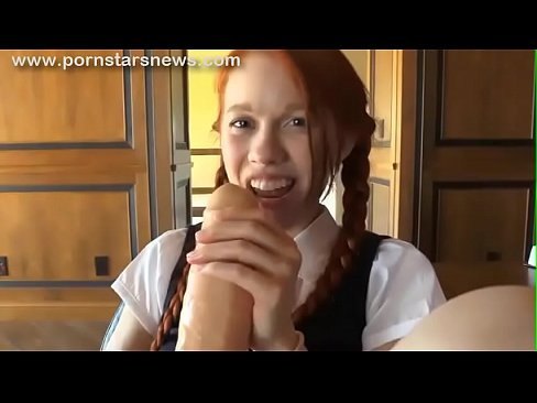 Barely Legal Schoolgirl Playing With Big Dildo