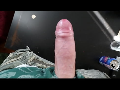 Masturbating Hands-free Big Cock Cum HUGE LOAD