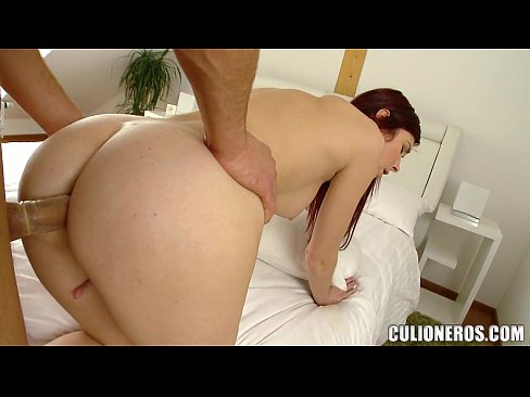 Fucking a great Redhead Babe Doggystyle