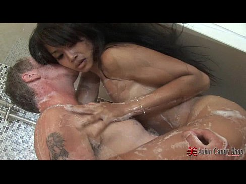 Soapy Asian Teens Sex Massage
