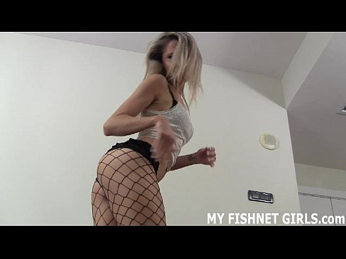Check out my 18yo ass in fishnets JOI