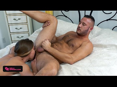 Clip sex GIRLSRIMMING - Avery Cristy fucked and Lick her boyfriend Asshole Danny Mountain