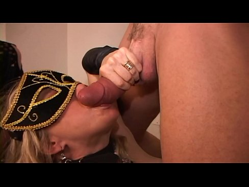Weird cock bones squirting MILF pussy and Cougar throat together Part1