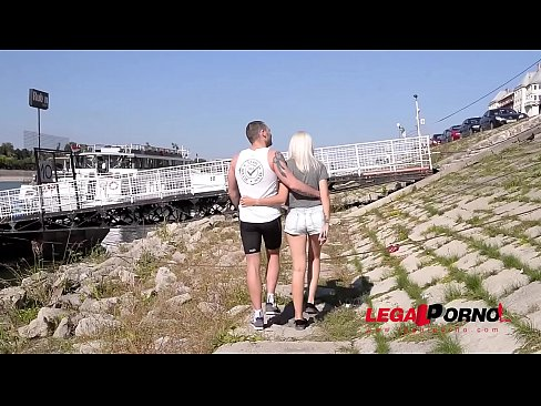 Jogger Ass Fucks Young Teenager Arteya While She Rubs Her Shaved Wet Pink GP459