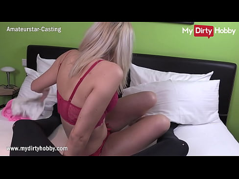 MyDirtyHobby - Cheating blonde babe riding her personal trainer POV